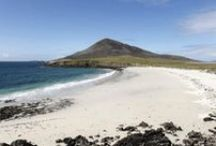 Scottish Beaches / Cold, winter weather makes us want to get away and lie on a beach in the sun...you won't get the sun in Scotland but there are countless beautiful beaches to explore! / by The Dunstane Hotel