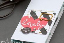 DIY - Project Life / Minialben aus Papier Fotoalbum Urlaubsalbum Memories and More Stampin' Up!