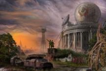 Fantasy and Apocalyptic art