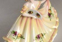 porcelán royal  vir  lady