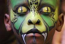 JongNL creatief - schminken / Leuke schminkideeën om eens uit te proberen op een groepsavond.