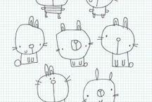 piirroksia - drawings