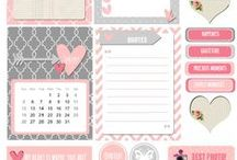 Printables / Printables to create a beautiful space, to stay organized, or to create your own works of art!