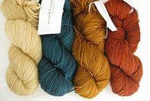 Yarn colour combinaisons
