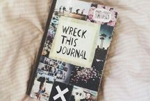 Wreck This Journal / Amazing ideas for Wreck This Journal.