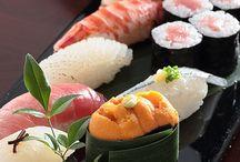 Sushis, makis, sashimis........... / Rien à dire j'en raffole