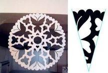 lumihiutaleita- snowflakes