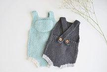 Modèles tricot bébés