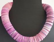 Necklace / Our handmade paper necklace. You can find them on http://www.etsy.com/it/shop/PetitBijouxdePapier