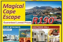 Our Specials  / Here you will find our weekly specials for resorts around South Africa.
