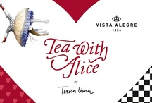 Tea With Alice Collection by Teresa Lima ILUSTRARTE | Vista Alegre