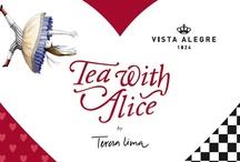 Tea With Alice Collection by Teresa Lima ILUSTRARTE | Vista Alegre