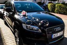 Wedding car -dekoracja samochodu