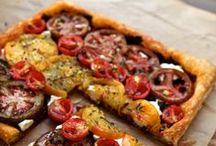 Tarte, Quiche, Pizza, Flammkuchen & Co