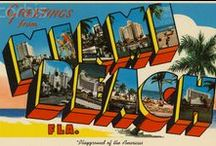 Miami Design / Design from the Magic City... Miami, Florida :)
