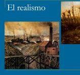 REALISMO Y NATURALISMO LITERARIOS / Tablero colaborativo de los alumnos del IES Gómez-Moreno en la clase de lengua.