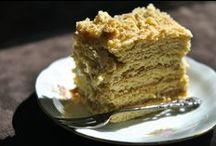 Ciasta i inne wypieki, desery - Cakes and pastries