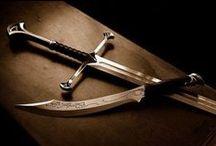 Swords & Daggers Art / by Jim Drougas