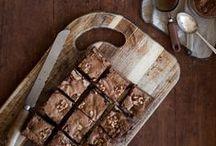Brownies | Blondies | Bars / Recipes about brownies, blondies and bars