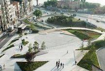 linee e punti in superfici urbane