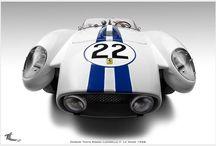 Ferrari White & Blue passion