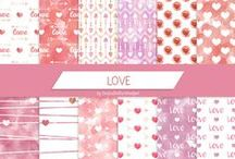 Digital materials / Digital papers, digital bookmarks, and other digital materials for handmade creations!