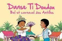 Antilles Comptines / Rondes, farandoles, défilés de carnaval donnent des fourmis dans les jambes... Indiqué pour les petits qui aiment remuer et danser biguine et carnaval!