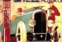 Vintage Motor Signs