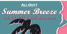 All-Out Summer Breeze / From the heart of the West Metro area and the Stenger Soccer Complex, All-Out brings you Summer Breeze!  Along with its Endless Series sidekick in January… Polar Prowl, these 1M, 5K, 10K and Half Marathon courses will follow Van Bibber Creek Trail west through Arvada's open spaces with spectacular views of the countryside and Table Mountain.  Plus, all distances have a fairly level grade, so yup… get ready for a PR!  **Spectator and strategic runner friendly with 2 laps on the half!**