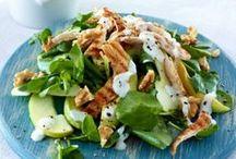 Salate // Salads / Rohkost und Salate sind ein wichtiger Bestandteil bei einer gesunden Ernährung - hier meine Salatlieblinge