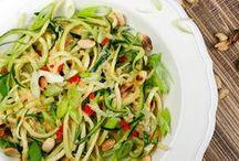 Low Carb Pasta & Co / Ohne Pasta geht bei uns nichts. Aber es kann auch gesund sein. Hier ein paar Anregungen