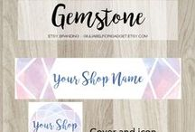 Etsy resources / Etsy resources for sellers like shop banner sets, infographic tips and tricks, labels and packaging and other helpful materials for Etsy shops.