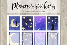 Planner printables / Planner printables for like planner stickers or planner inserts for erin condren, filofax and other planners.