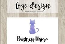 Logo designs / Professional logo design for businesses and small shops, pinning typography logos and watermarks too.