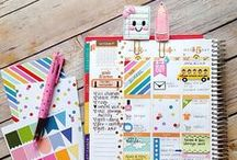 Planner inspiration / Planner layouts for inspiration! Take a look to premade layouts and then create your own!
