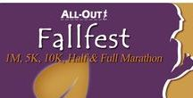 All-Out Fallfest / One of Colorado's favorite trails meets one of its most glorious parks at All-Out's Fallfest! As courses wind southwest along Big Dry Creek Trail, the remarkable sight of Standley Lake with the Flatirons on the horizon will come into view.  Along with its Endless Series sidekick in April… Beat the Heat, All-Out Multicourse is proud to bring you the one and only groomed trail marathon course in the Denver Metro Area!