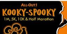 All-Out Kooky-Spooky / From the base of Table Mountain and Colorado's spectacular foothills, All-Out Multicourse presents our 5th annual Kooky-Spooky from Jefferson County's NAAC Stadium… easily accessible from Hwy 93, 6th Ave, Hwy 58 or I-70.  Along with its Endless Series sidekick in March… Spring Fever, these 1M, 5K, 10K & Half Marathon courses will hug the shores of Arvada's Blunn Reservoir via the Ralston Creek Trail and will challenge the beginner and veteran athlete alike.