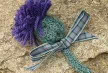 Flowers / Crocheted flowers, pattern, inspiration