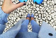 Blue things