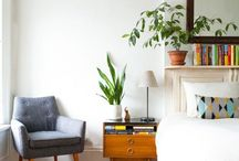 Interior inspiration and ideas / Mostly modern, timeless and bohemian styles