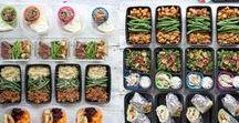 Meal Prep / Vorbereitung ist alles! Gesund Essen im Büro klappt mit Meal Prep, der einfachen Vorkoch-Wochenplanung
