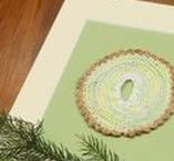 fiber art / handmade makrame, fiber art