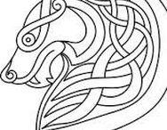 Celtic patterns / Celtic style patterns