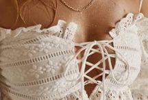 Boho beach outfit / Crocheted Boho beach skirt, top