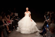 Lazaro SP 2013 Runway / Here are some of the latest Spring 2013 bridal gowns straight from the runway designed by Lazaro!
