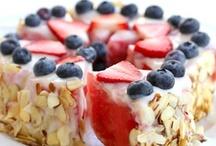 Skinny Desserts / Healthy  & more protein desserts  / by ♛Marina Kohanaya♛