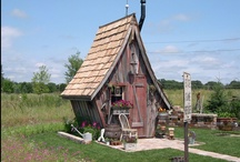 Garden Sheds and Greenhouses / garden sheds / by Redding Garden Club