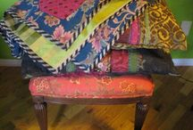 Boho decor / Bohemian textile with soul and history.