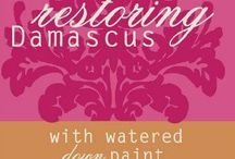 Syria. Restoring Damascus  With watered down paint ( Book) / Syria as it is and will continue to be.