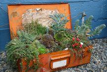 Garden bling / Fun things for a designer garden